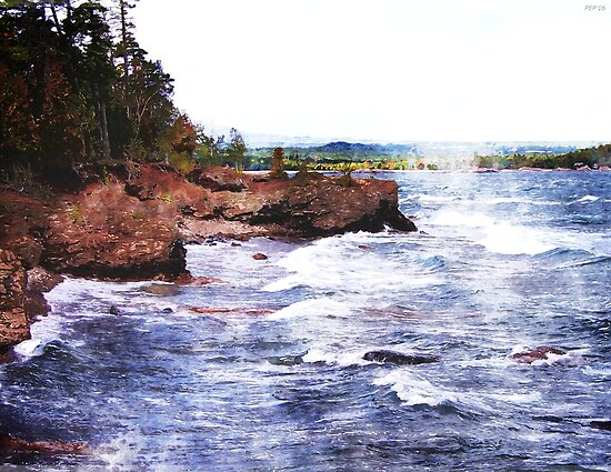 Upper Peninsula Landscape by Phil Perkins