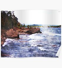 Upper Peninsula Landscape Poster