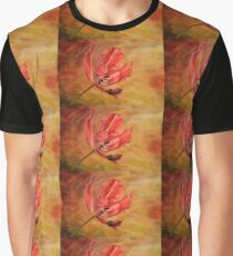 Tulip In Flames Graphic T-Shirt