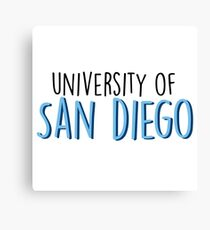 University of San Diego Canvas Print