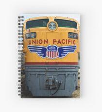 Union Pacific Railroad Spiral Notebook