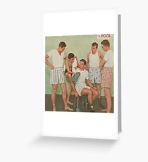 Under men Greeting Card