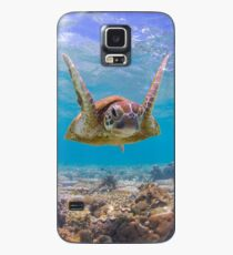 Joyful turtle Case/Skin for Samsung Galaxy