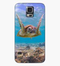 Frohe Schildkröte Hülle & Skin für Samsung Galaxy