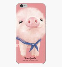 tiny pig iPhone Case