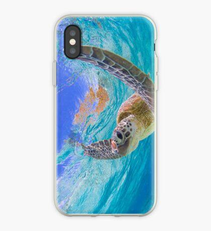 Elated turtle iPhone Case