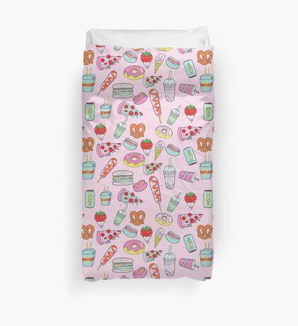 Dreaming Of Junk Food Duvet Cover
