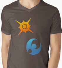 Pokemon Sun and Moon Symbols T-Shirt
