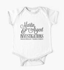 Martin & Argent Investigations Kids Clothes