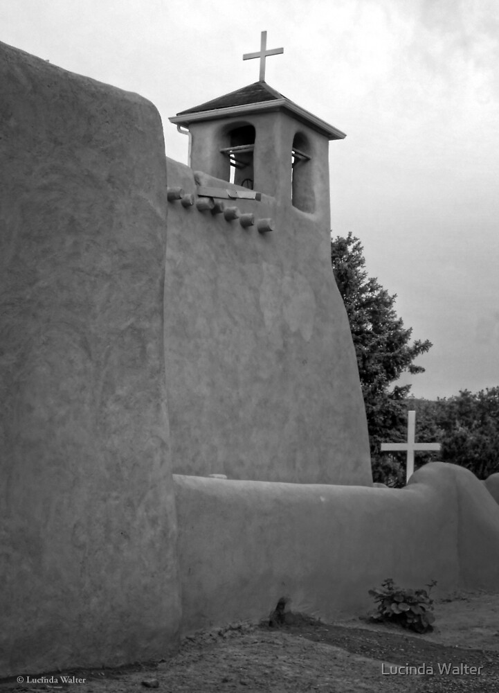 San Francisco de Asís Mission Church ~ Rancho de Taos by Lucinda Walter