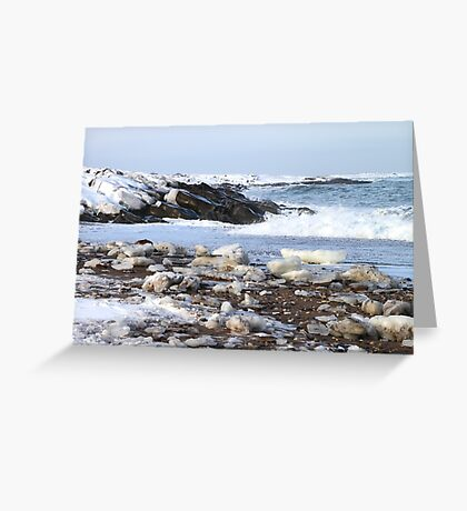 Ice & Breakers at Hudson Bay Greeting Card