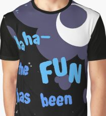 Quotes and quips - the fun has been doubled Graphic T-Shirt