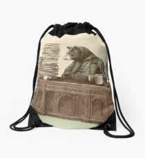 Bearocrat Drawstring Bag