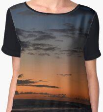 Sunset In Paradise Chiffon Top