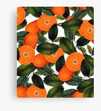 The Forbidden Orange #redbubble #lifestyle Canvas Print