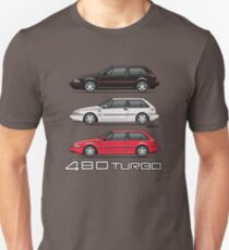 Stack of Volvo 480 Turbos Unisex T-Shirt