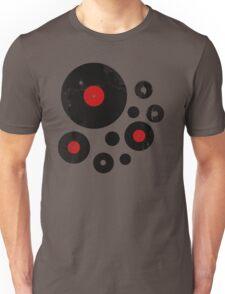 Vintage Vinyl Records Music DJ inspired design T-Shirt