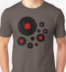 Vintage Vinyl Records Music DJ inspired design Unisex T-Shirt