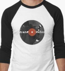 Vinyl Records Lover - Grunge Vinyl Record Men's Baseball ¾ T-Shirt
