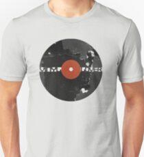 Vinyl Records Lover - Grunge Vinyl Record Unisex T-Shirt
