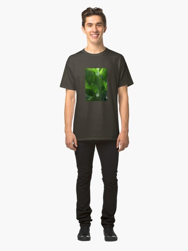 Alternative Ansicht von Tropisch frisch Classic T-Shirt