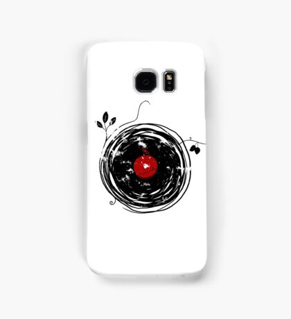 Cool Grunge Enchanting Vinyl Records Vintage Samsung Galaxy Case/Skin