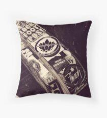 Rock Concert Memorabilia  Throw Pillow