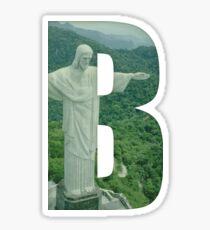 Brazil (Brazilian Jiu Jitsu) Sticker