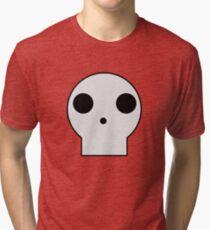 Skull Cartoon Tri-blend T-Shirt