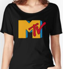 MTV Logo 1 Women's Relaxed Fit T-Shirt