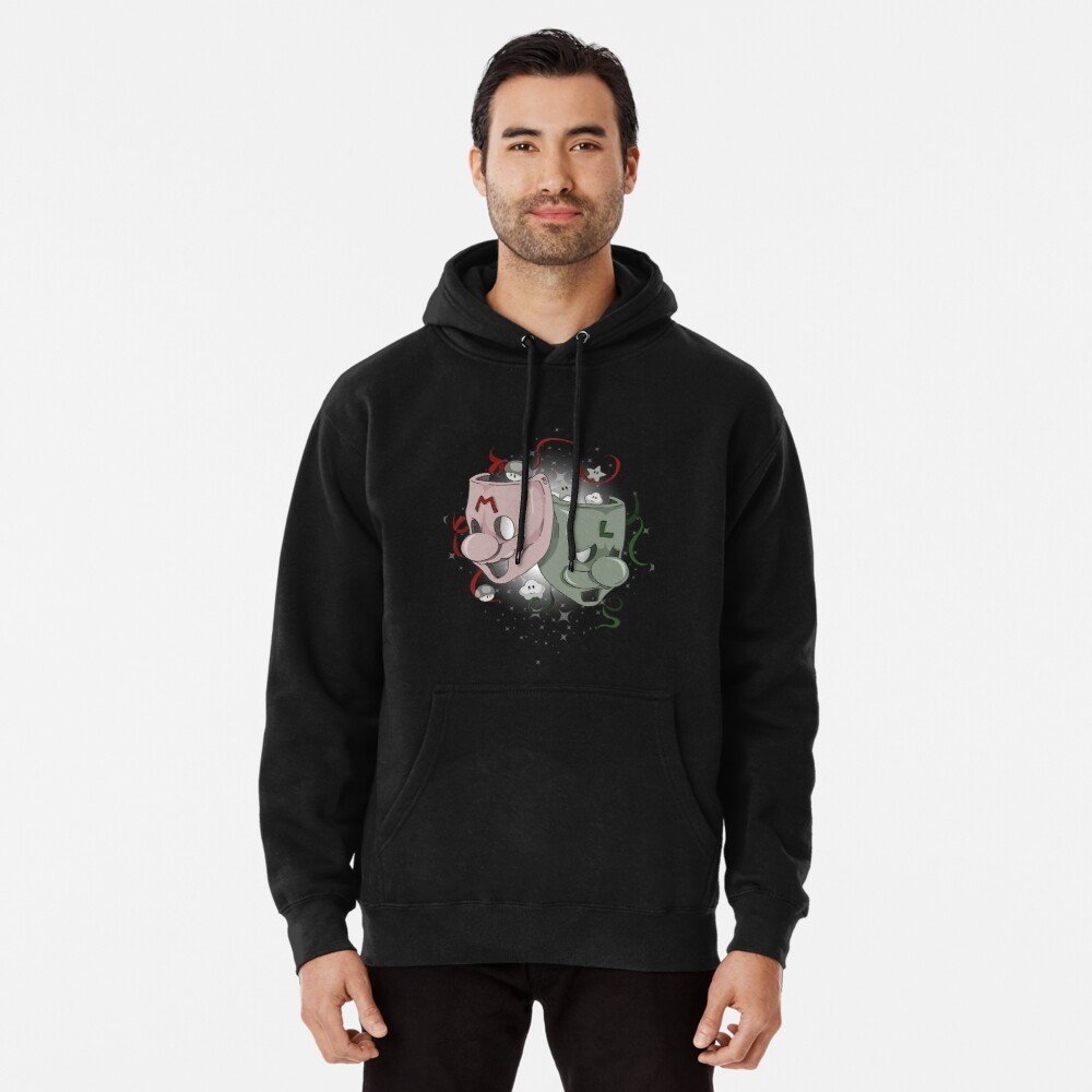 Mario and Luigi - Theater Pullover Hoodie