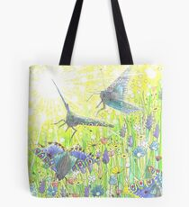 Fly-by Butterfly Tote Bag