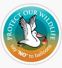 Protect our wildlife Sticker