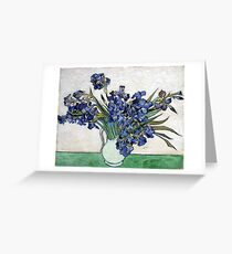 Vincent van Gogh Irises Greeting Card