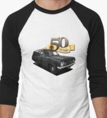 HR Holden Panel Van - Black Men's Baseball ¾ T-Shirt