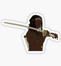 Michonne - The Walking Dead Sticker