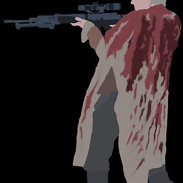 Carol Peletier - The Walking Dead by mashuma3130