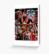 BIG TROUBLE IN LITTLE CHINA  Greeting Card