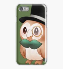 Sir Rowlet iPhone Case/Skin