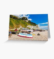Beer Devon England UK Greeting Card
