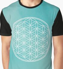 Flower of life - larimar Graphic T-Shirt