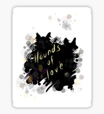 Kate Bush - hounds of love Sticker