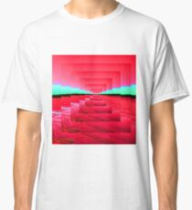 Red Abstract Classic T-Shirt