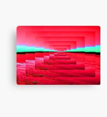 Red Abstract Canvas Print
