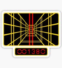 STAR WARS DROP THE BOMB X-WING Sticker