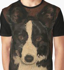 Jasper - border collie Graphic T-Shirt