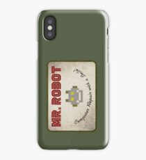 Mr. Robot Patch iPhone Case/Skin