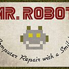 Mr. Robot Patch by marslegarde
