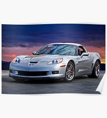 2006 Corvette Z06 Coupe Poster