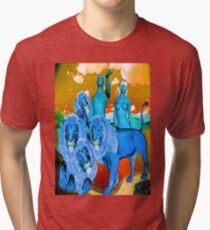 Adam And Eve Tri-blend T-Shirt